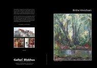 Birthe Hinrichsen - Galleri Blokhus