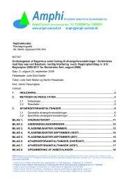 Undersøgelser af flager - Vejdirektoratet