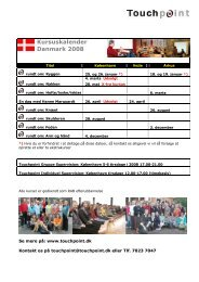 Kursuskalender Danmark 2008 - FDZ Forenede Danske ...