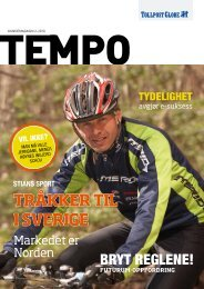 Kundemagasinet Tempo nr. 2 2010 - Tollpost Globe AS