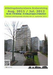 Årsberetning 2011-2012 - Velkommen til fsb bellahøj