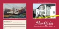 Hent bogpræsentation - Munkholm