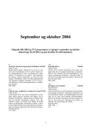 September og oktober 2004