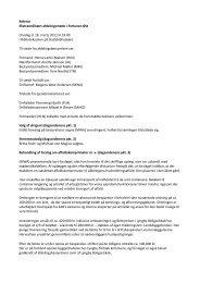 Referat Ekstraordinært afdelingsmøde i Fortunen Øst Onsdag d. 16 ...