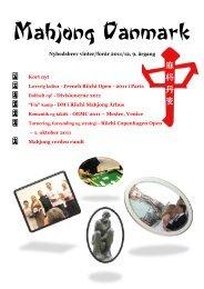 Vinter 2011-2012 - Mahjong Danmark