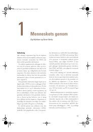 1 Menneskets genom