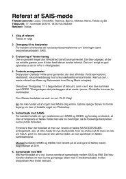 Referat 07-11-10 - SAIS