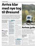Særudgave af Arrivas ARRIVA POSTEN om øresundstrafikken - Page 4