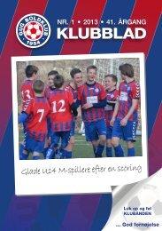 klubblad 1 / 2013 - Gug Boldklub