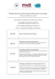 Tema: Modtagelse og fastholdelse af ... - Oxford Research