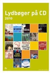 Lydbøger på CD 2010
