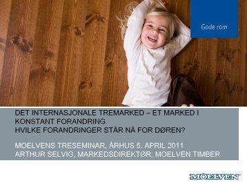 det internasjonale tremarked – et marked i konstant ... - Gode Rom