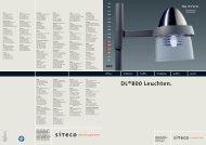 DL®800 Leuchten. - SITECO Lighting