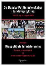 Link til Landevejscykling 2009 - Rigspolitiets Idrætsforening