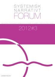 2012#3 - STOK – Dansk forening for systemisk terapi og konsultation