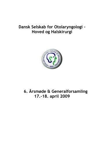 Dansk Selskab for Otolaryngologi – - dsohh
