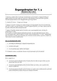 Samlet årsplan for 7.y - Tingagerskolen