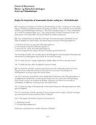 Regler for benyttelse af kommunale lokaler og anlæg - Næstved ...