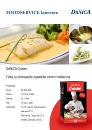FOODSERVICE lancerer: - Scandic Food