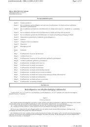 Bekendtgørelse om arbejdsmiljøfaglige uddannelser - Industriens ...