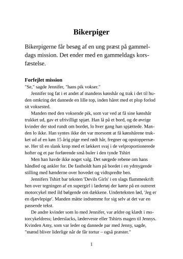 Bikerpiger - Pornobiblioteket.dk