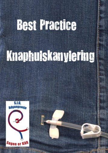 Best practice. Knaphulskanylering. 2011