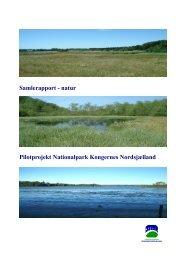 Samlet rapport af det åbne land i Nordsjælland af Frederiksborg Amt