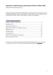 Resultater af regelforenkling og administrative lettelser fra 2005 til ...