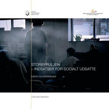 Nyt fra Social Forsknings Instituttet 8.februar 2007 - Gaderummet