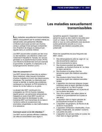Les maladies sexuellement transmissibles (2005) - Patient Talk!