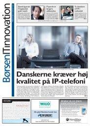 Danskerne kræver høj kvalitet på IP-telefoni - CSSC