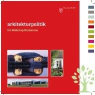 Arkitekturpolitik for Ballerup Kommune
