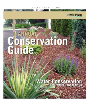 AnnuAl Water Conservation - United Water