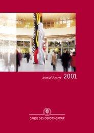 Annual Report - Caisse des Dépôts et Consignations