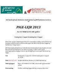 & PIGE-LEJR 2013 - Nustrup