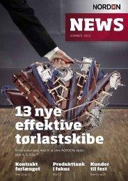 13 nye effektive tørlastskibe - Dampskibsselskabet NORDEN A/S