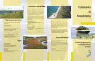 Folder om havspejlsstigning fra Skov- og Naturstyrelsen - Mit Vadehav