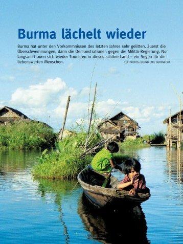 Burma lächelt wieder