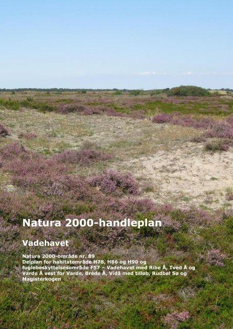 Natura 2000-handleplan Vadehavet - Esbjerg Kommune