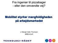 Margit Helle Thomsen, direktør, mhtconsult, medlem af ...