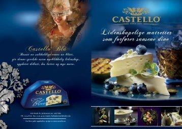 Castello oppskrifter (2,5 Mb pdf)