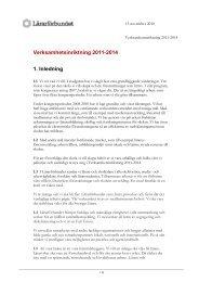 Verksamhetsinriktning 11-14 - Lärarförbundet