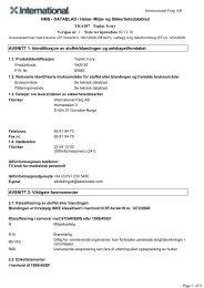 Miljø- og Sikkerhetsdatablad YKA187 Toplac Ivory Versjon nr. 1 ...