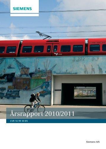 Årsrapport 2010/2011 - Siemens