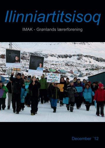 December 2012 - Lærernes fagforening i Grønland