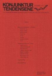 Konjunkturtendenser September 1977 - Statistisk sentralbyrå