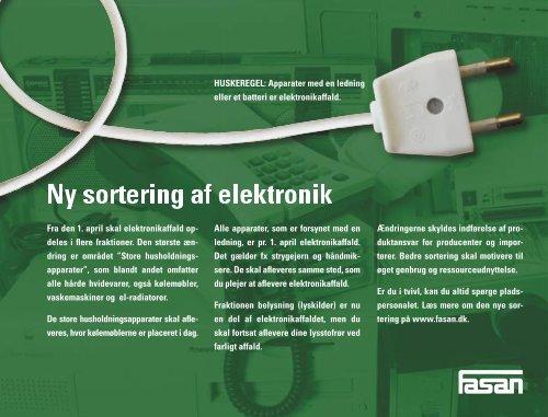 Ny sortering af elektronik