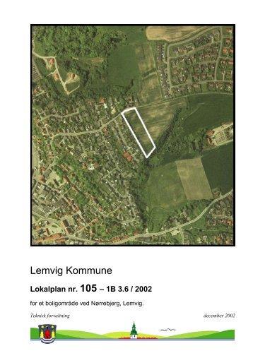 105 - for et boligområde ved Nørrebjerg, Lemvig - Lemvig Kommune
