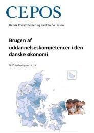 Brugen af uddannelseskompetencer i den danske økonomi - Cepos