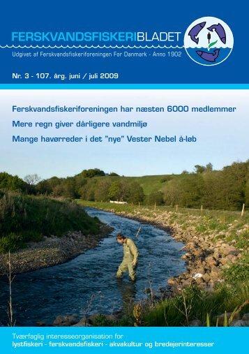 Juni/juli - Ferskvandsfiskeriforeningen